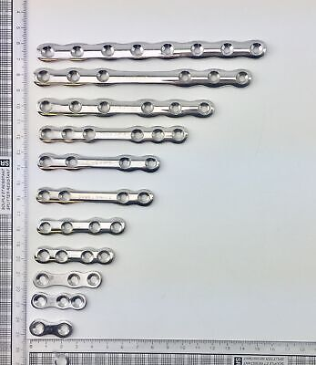 Set of Shermans Plate - 11 Sizes - Surgical Instrument