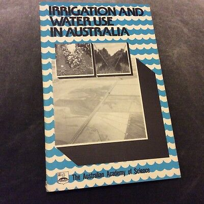 Irrigation and Water Use in Australia - 1980