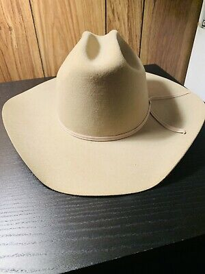 264de47cccc STETSON XXXXX D4 Ranch Tan Cowboy Hat Size 7 1 4 Made in USA ...
