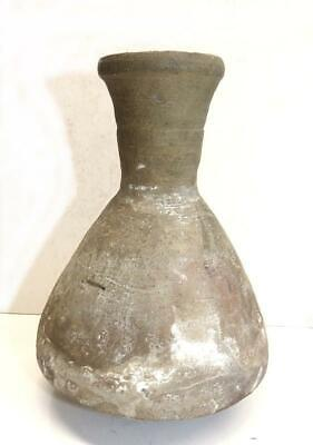 Ancient  Pottery Bottle With Painted Net Decoration -  Ban Chiang Thailand?