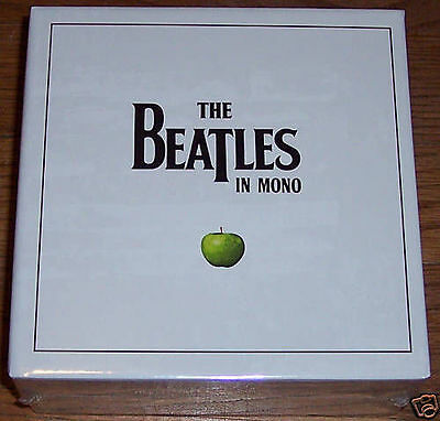 The Beatles in MONO 13 disc CD box set -- SEALED -- FREE SHIPPING