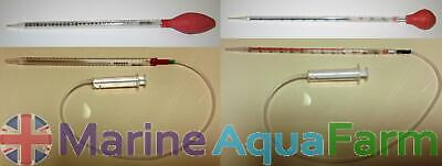 CORAL TARGET FEEDER MARINE PHYTO SPS LPS FISH LONG REACH FRAG PIPETTE 25ml & ...