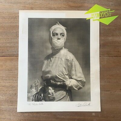 "Vintage ""The Theatre Sister"" 1948 Photographic Print By Dr. Julian Smith Photo"
