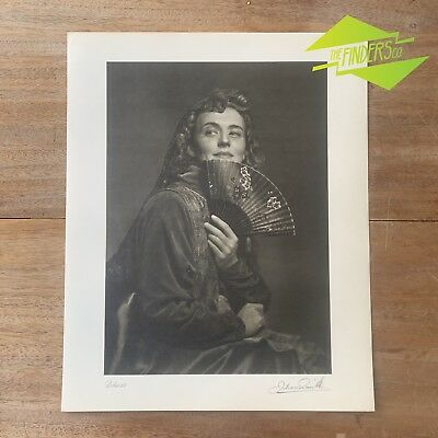 "Vintage ""Delores"" 1948 Photographic Print By Dr. Julian Smith Photographer"