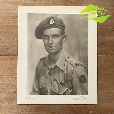 "Vintage ""Lt. James Lawrence"" 1948 Photographic Print By Dr. Julian Smith"
