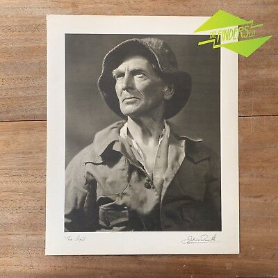"Vintage ""The Scout"" 1948 Photographic Print By Dr. Julian Smith Photographer"