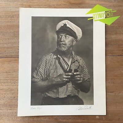 "Vintage ""Little Ships"" 1948 Photographic Print By Dr. Julian Smith Photographer"