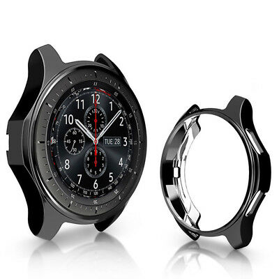 ALS_ Frontier Smart Watch Case Cover Protective Frame Band for Samsung Gear S3 S