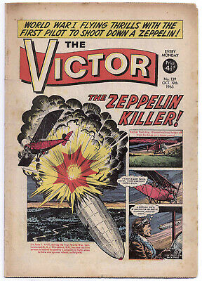 The Victor 139 (October 19, 1963) almost a very high grade copy