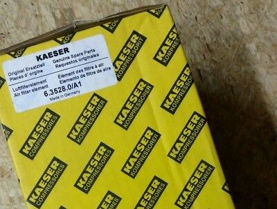 GENUINE OEM Kaeser 6.3528.0 GAS BALLAST FILTER - New