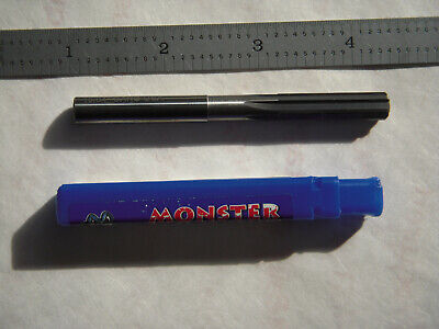 "New Monster Usa 19/64"" Dia. X 3-1/4"" Oal Solid Carbide R.h. 6Fl Chucking Reamer"