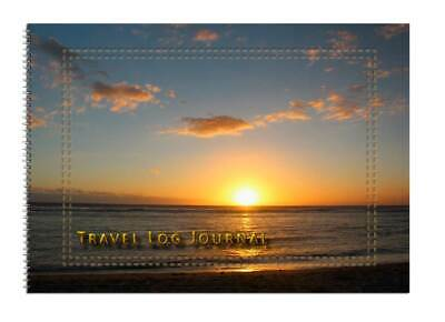 Caravan or Motorhome Owners, Travel Record Log & Journal A5 - Sun & Beach D11
