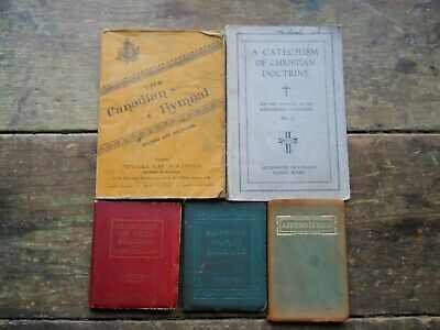Vintage Books Ballads & Poems Friendship Christianity Canadian Hymnal 1894 -1941