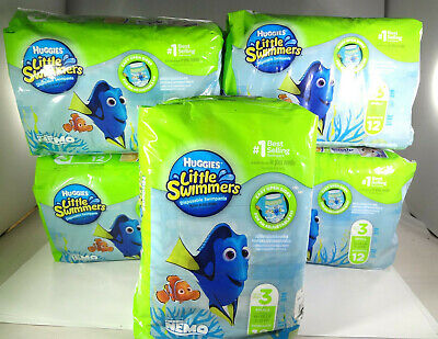 Huggies-Little Swimmers Disposable Swimpants-Up to Size 3 Small 16-26lbs[MB-H]