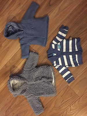First Size/ Newborn NEXT M&S Mothercare JoJo Maman Bebe Jackets Baby grows Vests