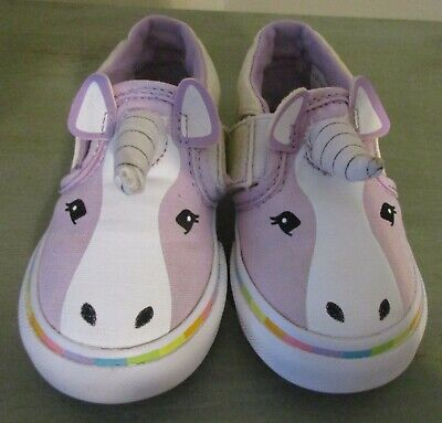 BRAND NEW VANS Asher V Unicorn Toddler Girls Slip-On Shoes -Limited ... dad3c16f0