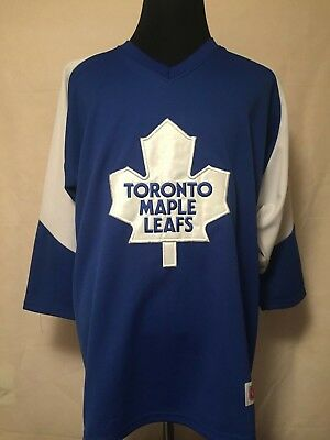 NHL Toronto Maple Leafs XL 3/4 Sleeve Air Knit Supporter Hockey Jersey by CCM