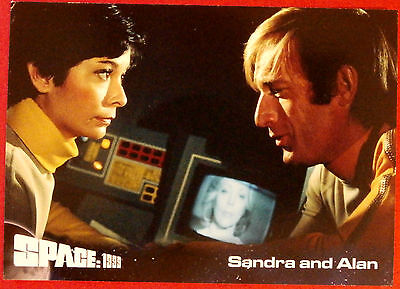 SPACE 1999 - Card #38 - Sandra and Alan - Unstoppable Cards Ltd 2015