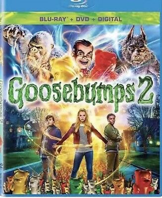 Goosebumps 2: Haunted Halloween Blu-ray Only, Please read