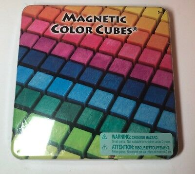 Magnetic Color Cubes The Orb Factory 100 Wooden Puzzle Open Ended  Creative Play