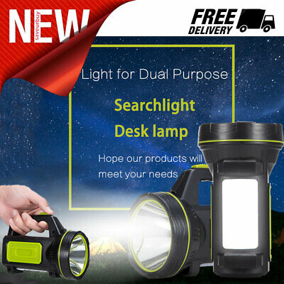 135000LM Led Rechargeable Work Light Torch Candle Camping Spotlight Hand Lamp US