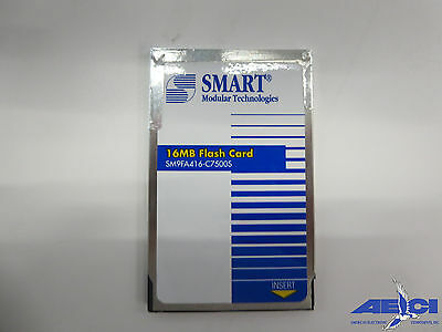 Smart Modular Technologies Sm9Fa416-C7500S 16 Mb Flash Card