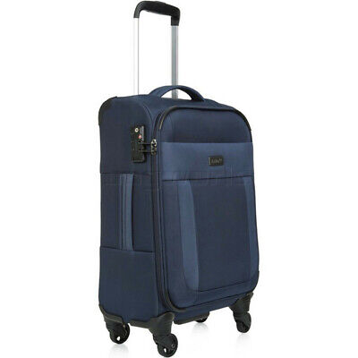 Antler Translite Small/Cabin 56cm Softside Suitcase Blue 39026
