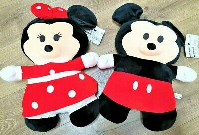 Soft Toy Plush Disney Mickey mouse and Minnie Mouse 40cm Set of 2 Plush
