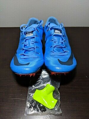b01354710e1 NEW NIKE ZOOM SUPERFLY ELITE RACING SPIKE 835996-446 - BLUE/CRIMSON Sz 10