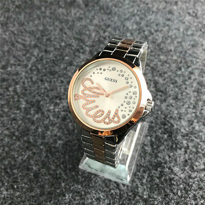 2019 New Women's Stainless steel Wristwatches Crystal Curve G bears Watch