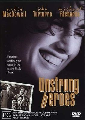 Unstrung Heroes (DVD, 2003) // Ex-Rental // No Cover // Disc & Case only