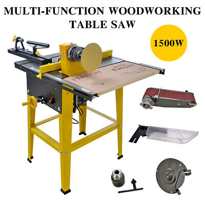Saw 31''×24'' Polisher, Grinder ,Driller Cutter Multi-function Woodworking Table