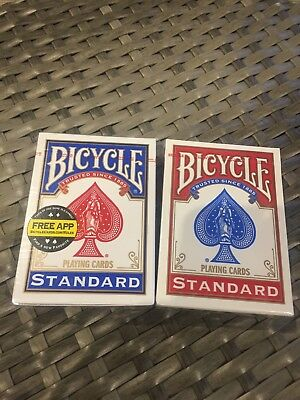 BRAND NEW 4 Decks Bicycle US Standard Playing Cards Card Sealed Poker/magic  Etc