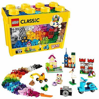 LEGO Classic Large Creative Brick Box Building Colourful Construction Toy Set
