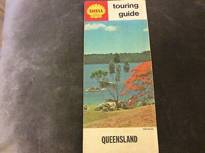 Vintage Shell Touring Map - Queensland