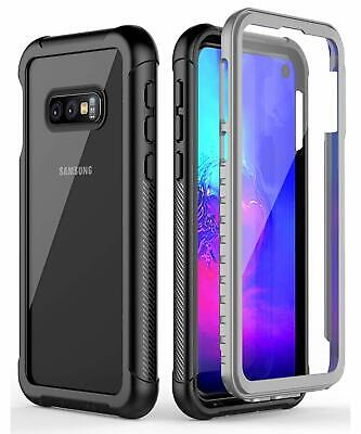 For Galaxy S10e S10+ Case With Built-in Screen Protector Full Body Rugged Armor