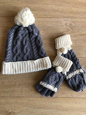 2d1ccf9e22a8d PATRICK FRANCIS IRELAND BRAND NEW Matching Hat And Mittens Set ...