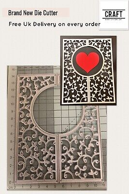 2 Piece Ornate Frame Die Cutter- Craft/Wedding/Card Making (CraftAddictionUK)