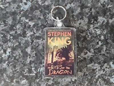Book Art Stephen King NEW It Jumbo Keyring Cult Horror Author Pennywise