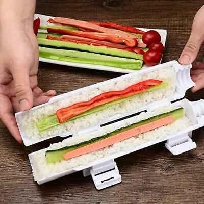 Practical Bazooka Sushi Roll Maker Appliance Gourmet Kitchen Cooking Tube Mold