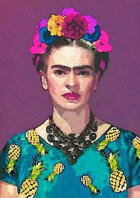 Frida Kahlo Mexican Artist Painting Poster Art - A4 Sizes