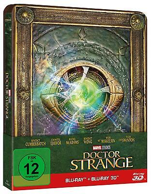 Doctor Strange - Steelbook [3D Blu-ray] [Limited Edition] NEU OVP