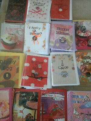 50 Tea Time Cards, Wholesale Joblot Greeting Cards
