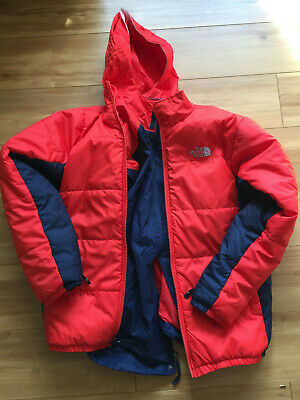 2b23ebba0525 The North Face 3 In 1 Triclimate Twin Layer Jacket Boys XL 18 20 Red