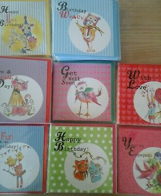 50 Have Fun Cards, Wholesale Joblot Greeting Cards