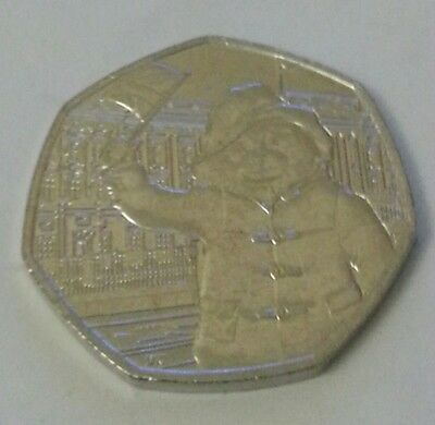 2018 Paddington Bear at the palace 50p uncirculated out of sealed bags