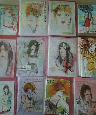 50 Bespoke Cards, Wholesale Joblot Greeting Cards