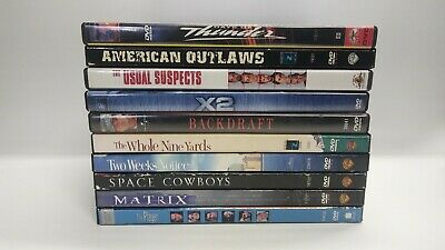 DVD Lot of 10 Movies Assorted Various Title Bulk Wholesale