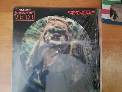 Star Wars: The Story Of Return Of The Jedi, 12 in Picture Disc Special Edition
