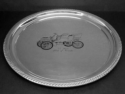 25 Years Ford of Canada Marlboro Silver Plated Serving Tray by Morton-Parker